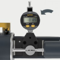 Mini digital indicator : Indicator to display the position of the table