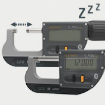 Absolute system SIS : Characterizes instruments equipped with a Smart Inductive Sensor with an extremely low power sleeping mode, which keeps its origin (last zero setting) and automatically wakes up when a movement is detected.