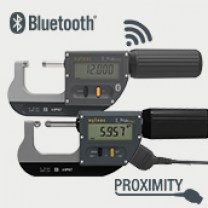 Connections Proximity (Contactless data transfer by inductive coupling through the plastic casing) and Bluetooth (Instruments with BLUETOOTH® Smart data output)