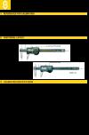 Calibration instructions for Caliper